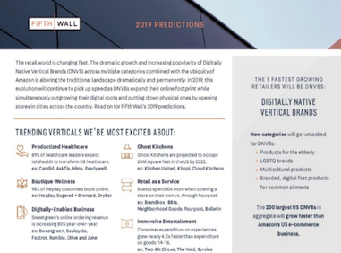 Fifth Wall Retail Predictions